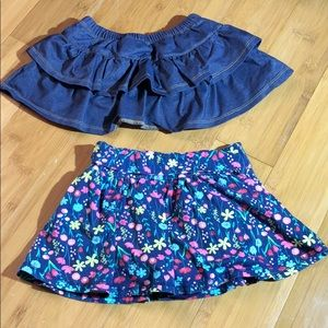 First Impressions Bottoms - lot of 2 First Impressions Play skorts blue 18M
